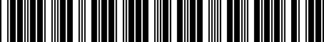 Barcode for PT4135304L