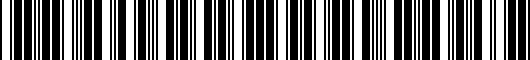 Barcode for PT94478150FR